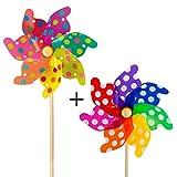 CIM Windspiel - Moulin 31 Rainbow - UV-beständig und...