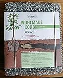 Wuehlmauskorb für Bäume, verzinkt