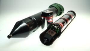 Maulwurfschreck mit Batterie