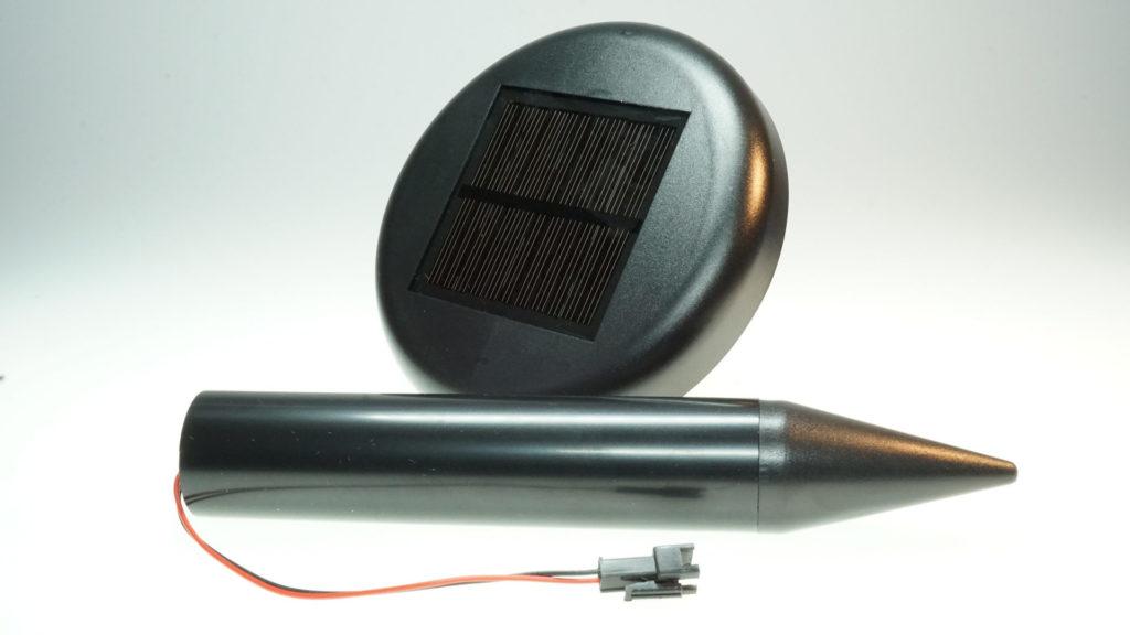 Maulwurfschreck mit Solarmodul